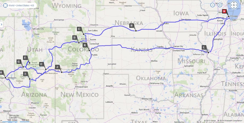 Road Trip 2014